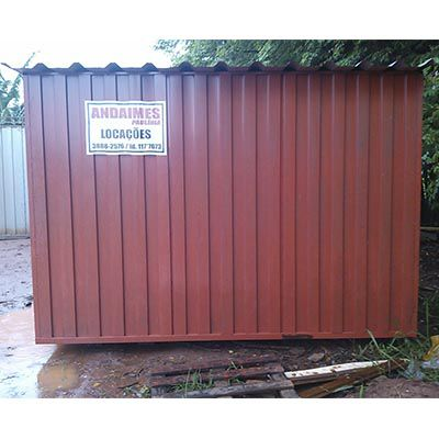 Aluguel de containers para obras