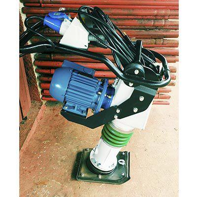 Locação de compactador tipo sapo